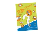 Food allergy flyer and illustrations created for Tufts University.