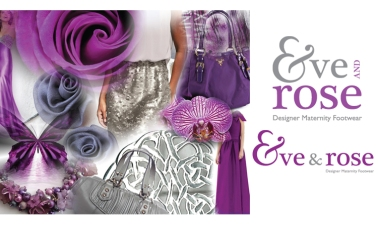 Mood board and identity created for the Eve and Rose brand within Casa Couture.